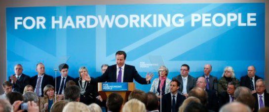 David Cameron visits Nuneaton